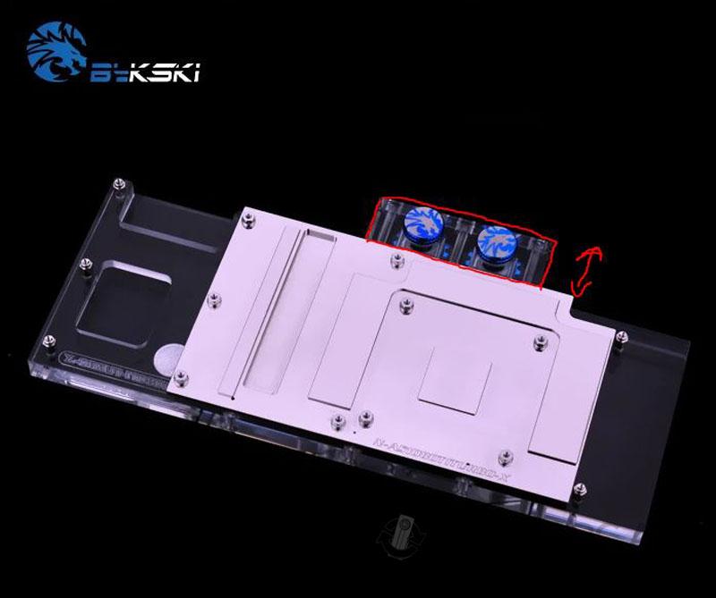 Fractal Era build - GTX 1080 TI waterblock